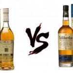 Glenmorangie Nectar D'or Vs Tullibardine 225
