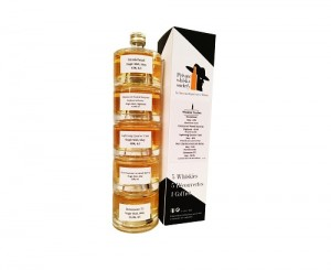 Coffret Whiskies Tourbés