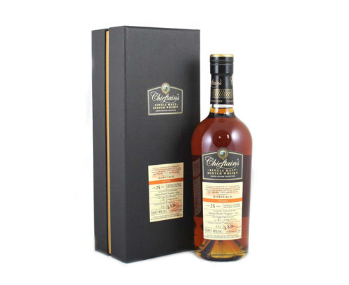 Mortlach 1990 25 ans Chieftains Choice 46%