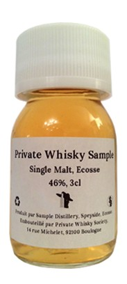 Private Whisky Samples