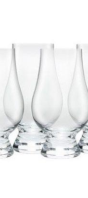 Lot de 6 verres vierges Glencairn