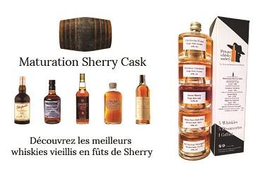 Coffret Maturation Sherry Cask