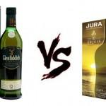 Jura Origin 10 ans Vs Glenfiddich 12 ans