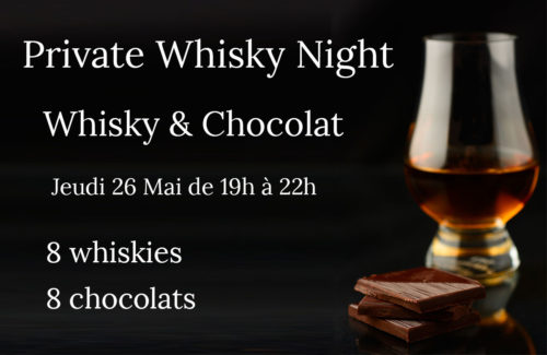Private Whisky Night & Chocolat