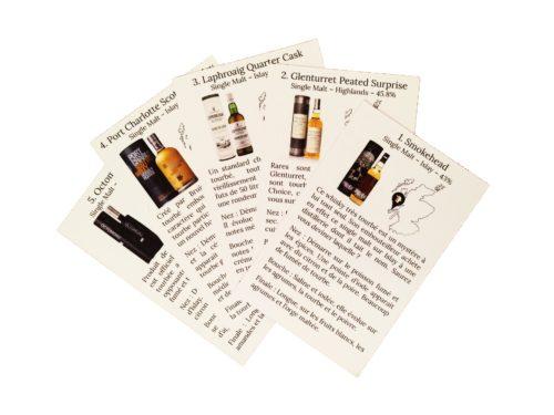 Coffret Whiskies Tourbés