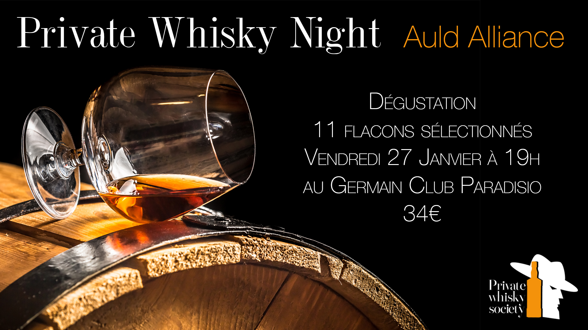 Private Whisky Night Auld Alliance