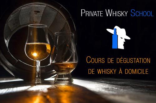 Cours de dégustation de whisky à domicile