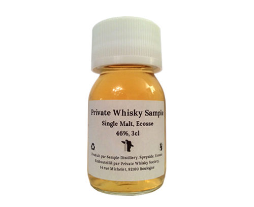 Private Whisky Sample