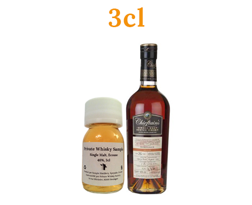 Mortlach 1990 25 ans Chieftains Choice 46% 3cl