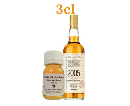 Ledaig 2005 Wilson and Morgan 57% 3cl