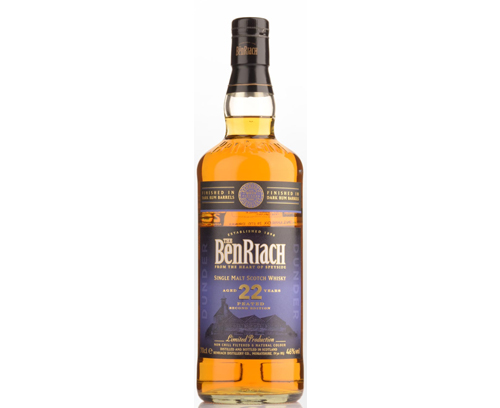 Benriach 22 ans Peated Dark Rum Finish 46%