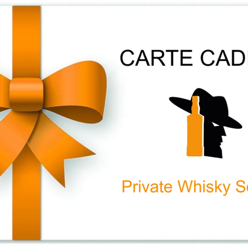 Carte Cadeau Private Whisky Society