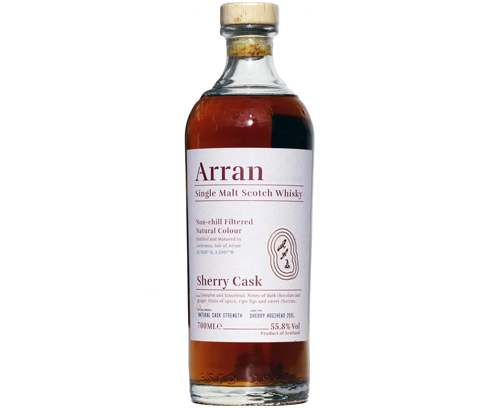Arran Sherry Cask The Bodega 55.8%